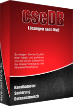 Softwarebox cseDB Kanalkataster