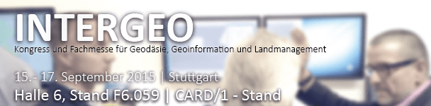 INTERGEO 2015 in Stuttgart
